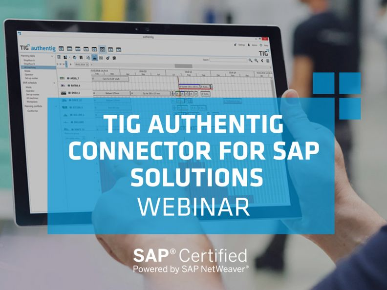 tig authentig connector for sap solutions webinar