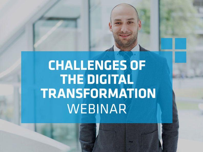 Challenges of the digital transformations - Webinar